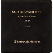 Sada oběžných mincí ČR 2001 PROOF