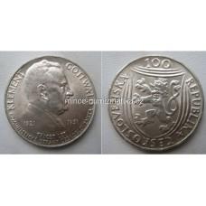 100 Kčs 1951 Gottwald