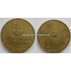 10 Sk 1993 - 10 Korún Slovenských