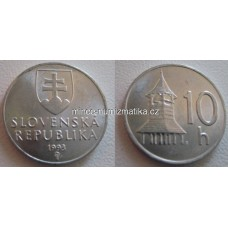 10 halier 1993 RL Slovensko