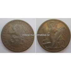 1 Kčs 1923 - Koruna 1Kč