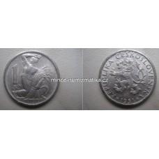 1 Kčs 1951 1/1 - Koruna Československá