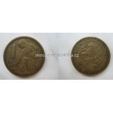 1 Kčs 1959 -R-  Koruna Československá