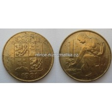 1 Kčs 1991 1/1 koruna ČSFR