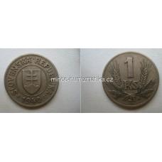 1 Ks 1940 - Slovenská koruna