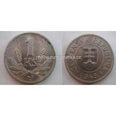 1 Ks 1945 RL - Slovenská koruna