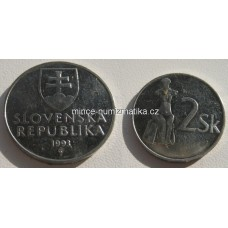 2 Sk 1993 - Slovenská koruna