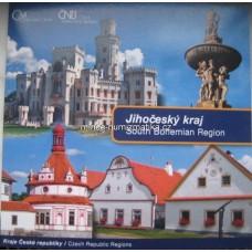 Sada oběžných mincí ČR 2009 Jihočeský kraj