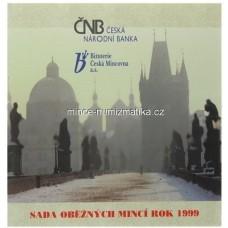 Sada oběžných mincí ČR 1999 Petr Parléř -R-